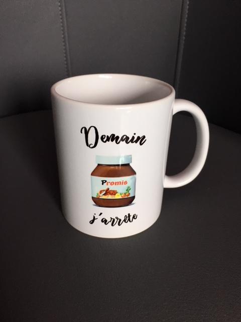mug nutella
