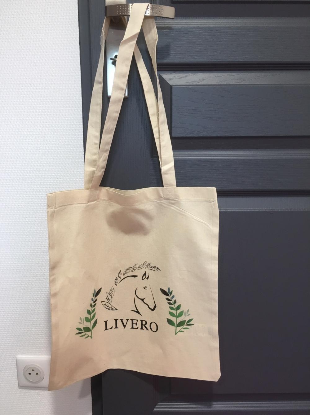sac coton livero